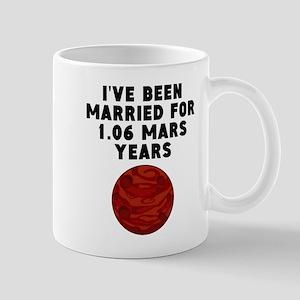 2nd Anniversary Mars Years Mugs