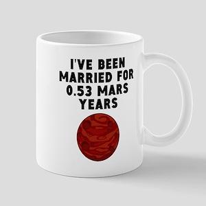 1st Anniversary Mars Years Mugs