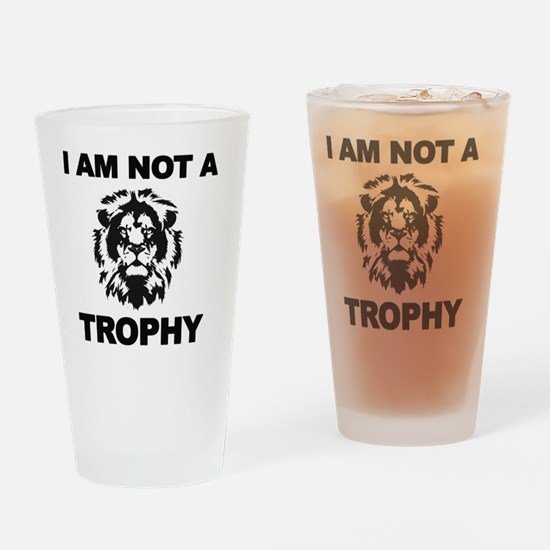 Cecil Lion Drinking Glass