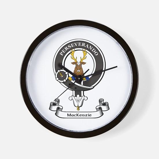 Badge-MacKenzie [Cromarty] Wall Clock