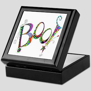 Halloween Boo! Colorful Design Keepsake Box