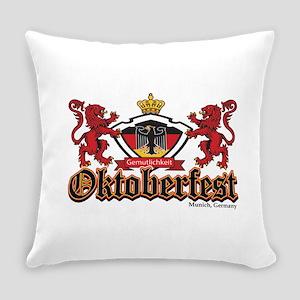Oktoberfest 2 Lions Everyday Pillow
