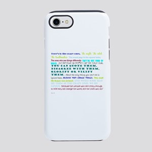 people who change things iPhone 8/7 Tough Case