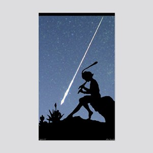 Pan Pipes - Perseids Rectangle Sticker