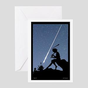 Pan Pipes - Perseids Greeting Card