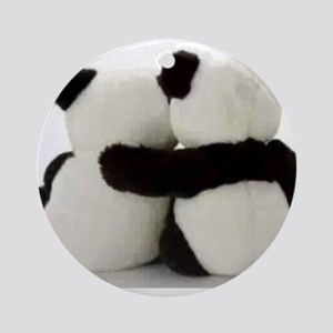 Panda Lover Round Ornament