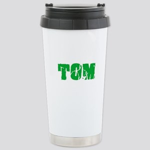 Tom Name Weathered Green Design Mugs