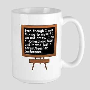 TALKING TO MYSELF/HOMESCHOOL MOM Mugs