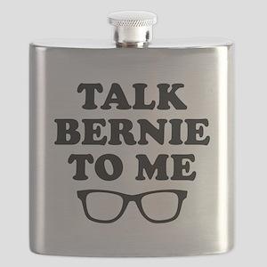 Talk Bernie To Me Flask