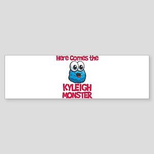 Kyleigh Monster Bumper Sticker