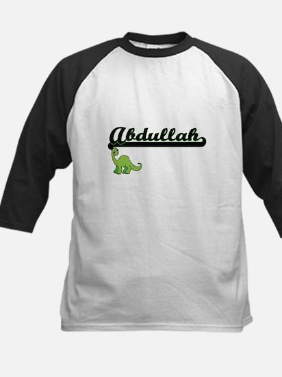 Abdullah Classic Name Design with Baseball Jersey