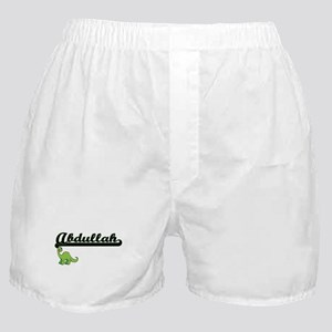 Abdullah Classic Name Design with Din Boxer Shorts