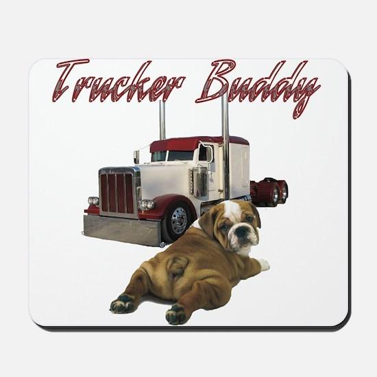Trucker Buddy Mousepad