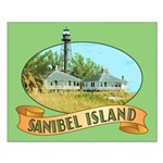 Sanibel Lighthouse - Small Poster