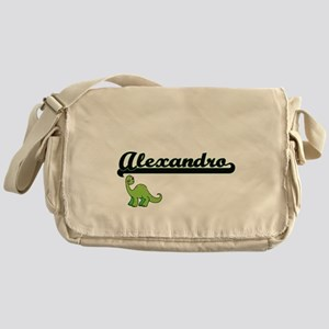 Alexandro Classic Name Design with D Messenger Bag
