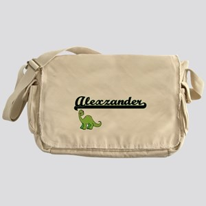 Alexzander Classic Name Design with Messenger Bag