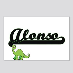 Alonso Classic Name Desig Postcards (Package of 8)