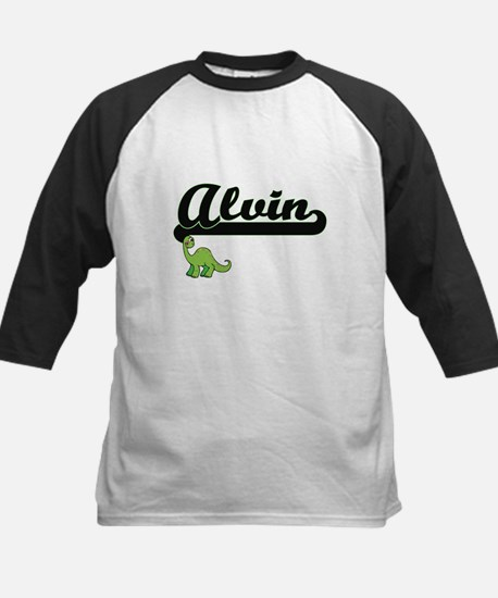 Alvin Classic Name Design with Din Baseball Jersey