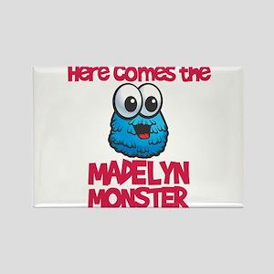 Madelyn Monster Rectangle Magnet (10 pack)