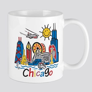 Chicago Kids Dark Mugs