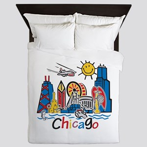 Chicago Kids Dark Queen Duvet