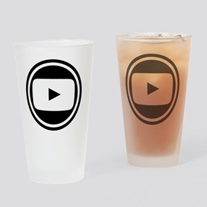 Youtube Drinking Glass
