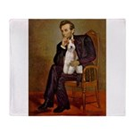Lincoln-WireFoxT Throw Blanket