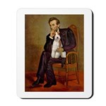 Lincoln-WireFoxT Mousepad