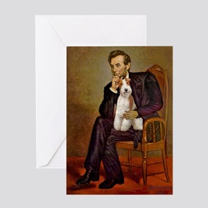Lincoln-WireFoxT Greeting Card