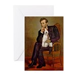 Lincoln-WireFoxT Greeting Cards (Pk of 10)