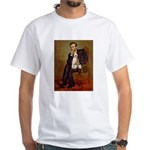 Lincoln-WireFoxT White T-Shirt