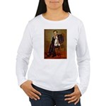 Lincoln-WireFoxT Women's Long Sleeve T-Shirt