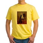 Lincoln-WireFoxT Yellow T-Shirt