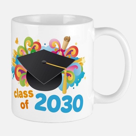 Class Of 2030 Graduation Party Mug