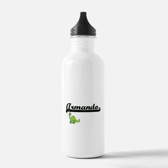 Armando Classic Name D Water Bottle