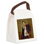 Lincoln-WireFoxT Canvas Lunch Bag