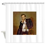 Lincoln-WireFoxT Shower Curtain
