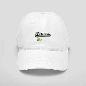 Arturo Classic Name Design with Dinosaur Cap