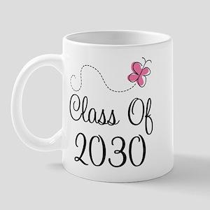 Class Of 2030 butterfly Mug