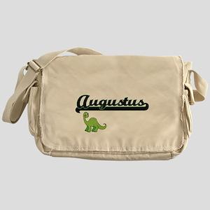 Augustus Classic Name Design with Di Messenger Bag