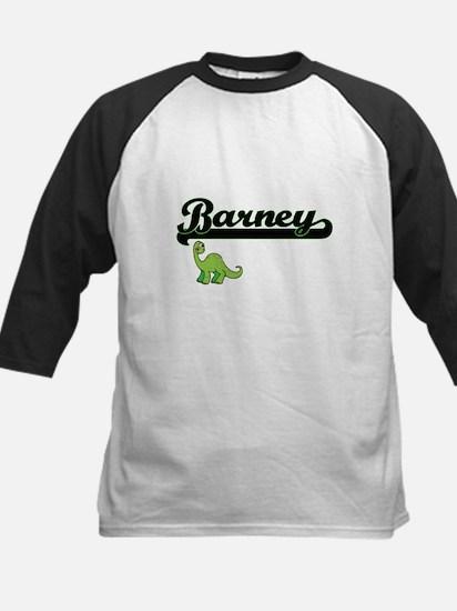 Barney Classic Name Design with Di Baseball Jersey