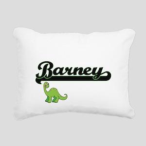 Barney Classic Name Desi Rectangular Canvas Pillow