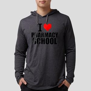 I Love Pharmacy School Long Sleeve T-Shirt