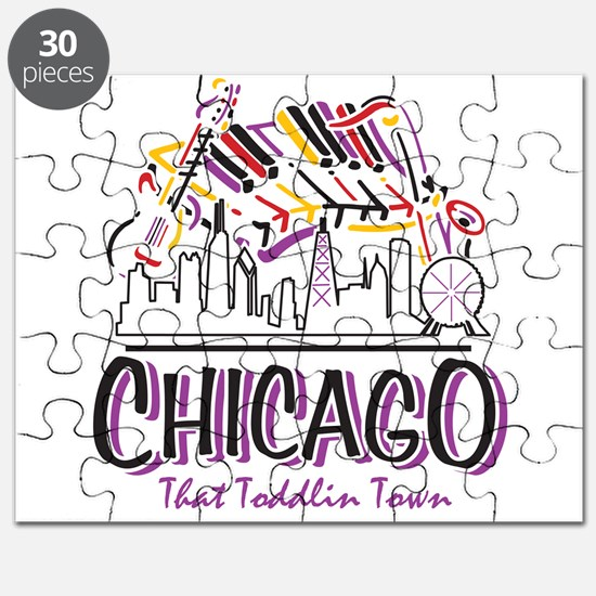Chicago That Toddlin Town Puzzle