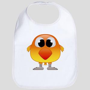Lovely Orange and Yellow Baby Bird Bib