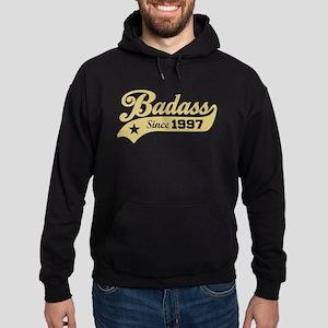 Badass Since 1997 Hoodie (dark)