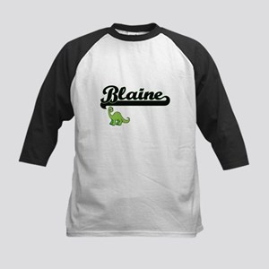 Blaine Classic Name Design with Di Baseball Jersey