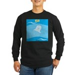 Go with the Flow Long Sleeve Dark T-Shirt