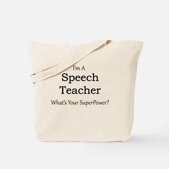 Speech Teacher Tote Bag
