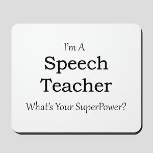 Speech Teacher Mousepad